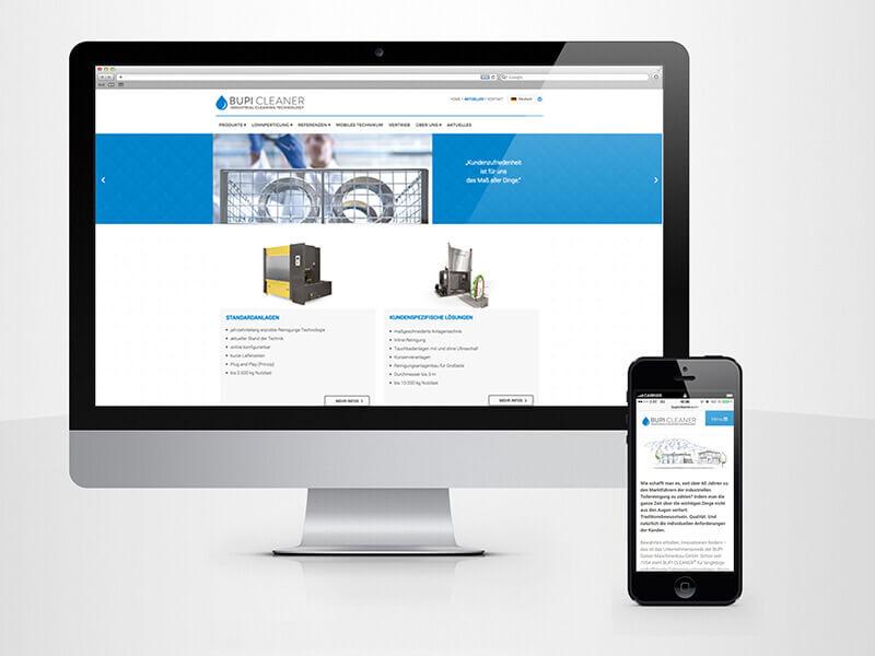 BupiCleaner Website