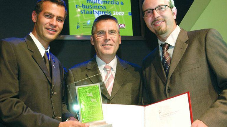 Multimedia- und e-Business-Staatspreis 2002