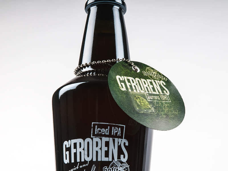 BRAUEREI HOFSTETTEN Packaging Design G'froren's