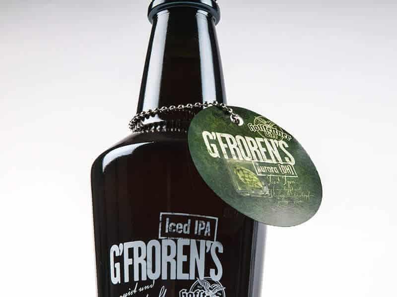 BRAUEREI HOFSTETTEN Packaging Design G'froren's