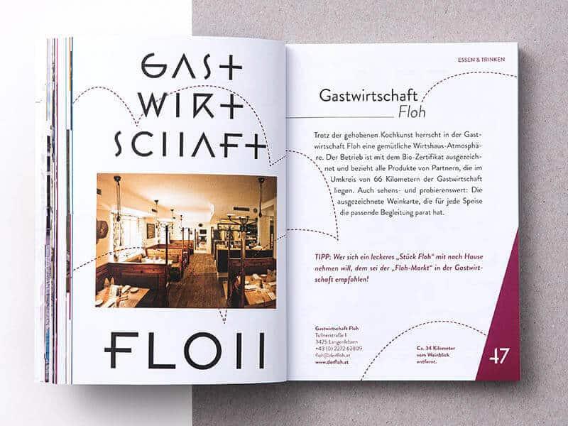 WEINGUT FRANZ ANTON MAYER Broschüre Best of Wagram