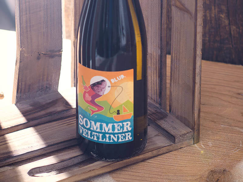 WEINGUT FRANZ ANTON MAYER Packaging Design Sommer Veltliner