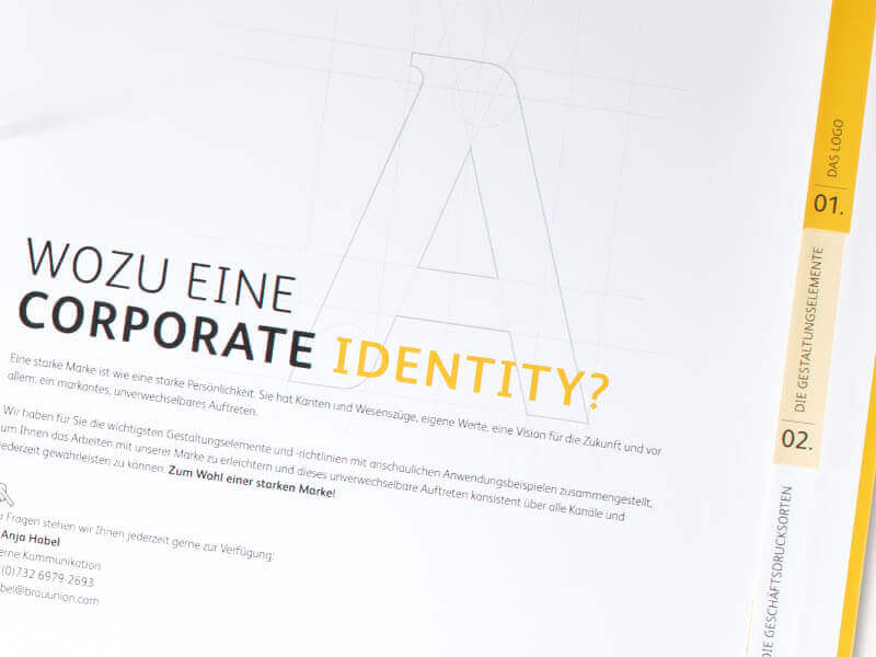 BRAU UNION ÖSTERREICH Corporate Design