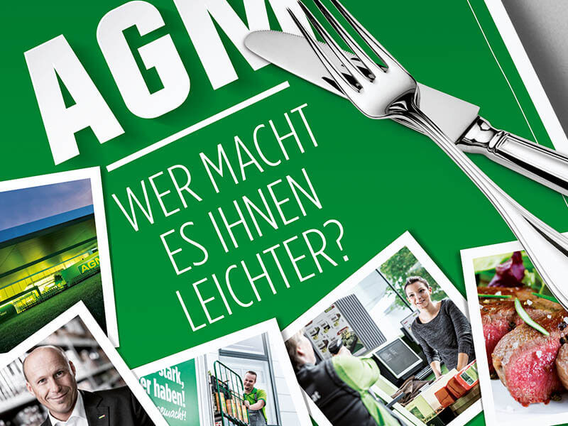 AGM Großverbrauchermärkte Imageanzeigen