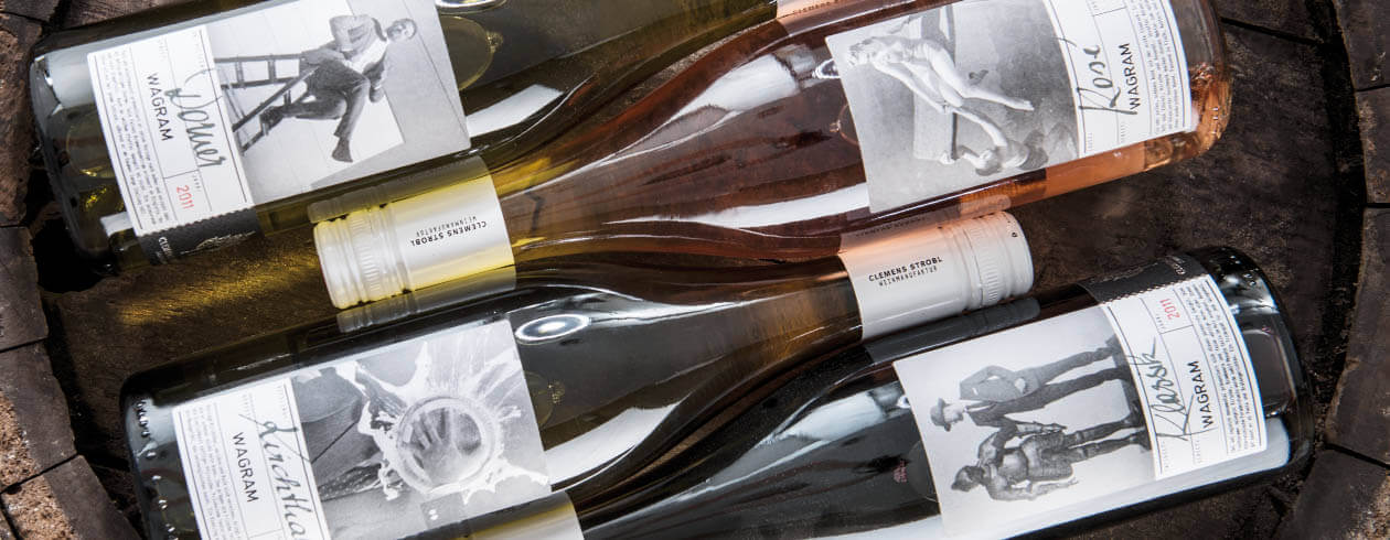 WEINMANUFAKTUR CLEMENS STROBL Packaging Design Klassiklinie