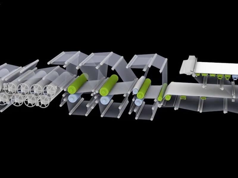 RÖCHLING LERIPA PAPERTECH 3D Animationen
