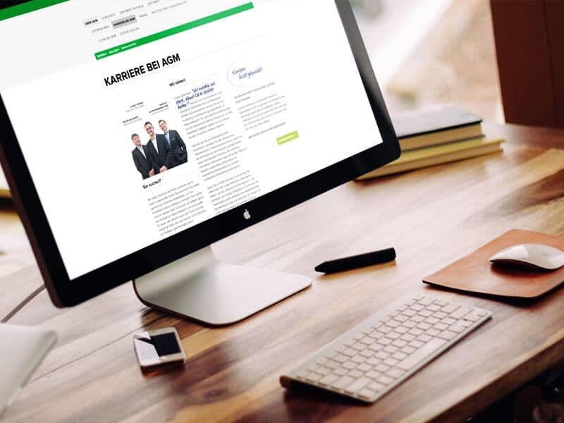 AGM GROSSVERBRAUCHERMÄRKTE Konzeption und Webdesign