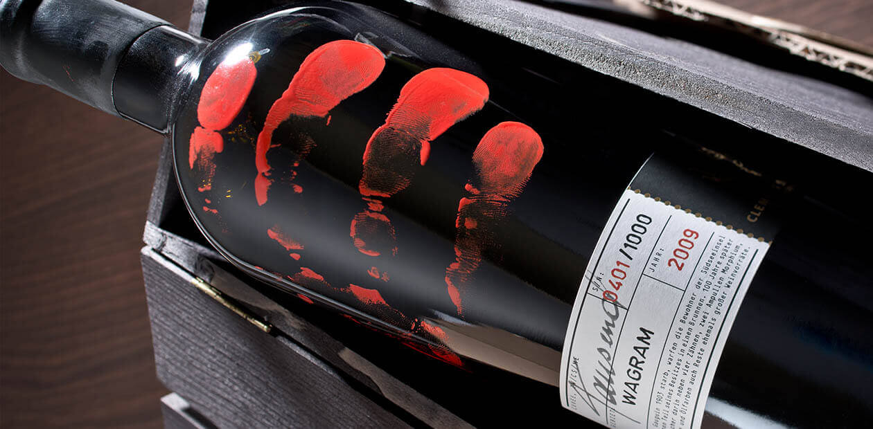 WEINMANUFAKTUR CLEMENS STROBL Packaging Design Edition Tausend
