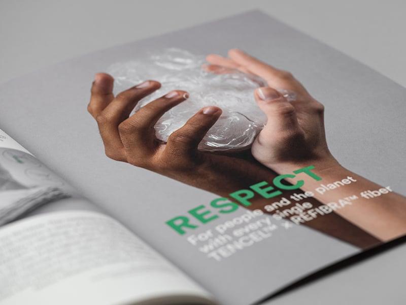 """Ein Symbolbild für Respekt im Katalog """"fibers for the future"""""""