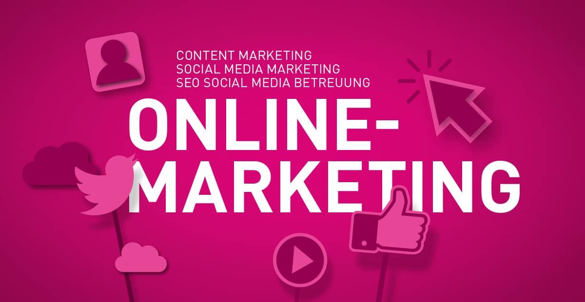 Online Marketing, Social Media Marketing, SEO, Content Marketing